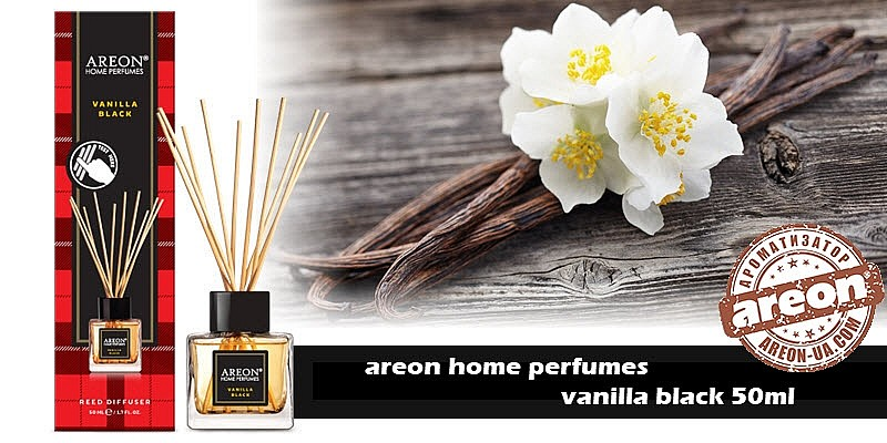 New!!! Areon Home Perfumes Vanilla Black 50ml