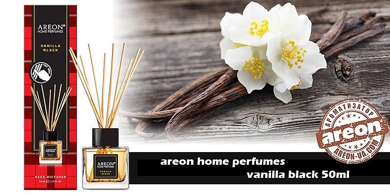 Новинка!!! Areon Home Perfumes Vanilla Black 50ml