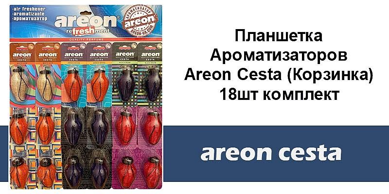 Новый формат Areon Cesta Планшетка