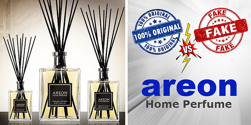 Ароматизаторы AREON Original vs Fake
