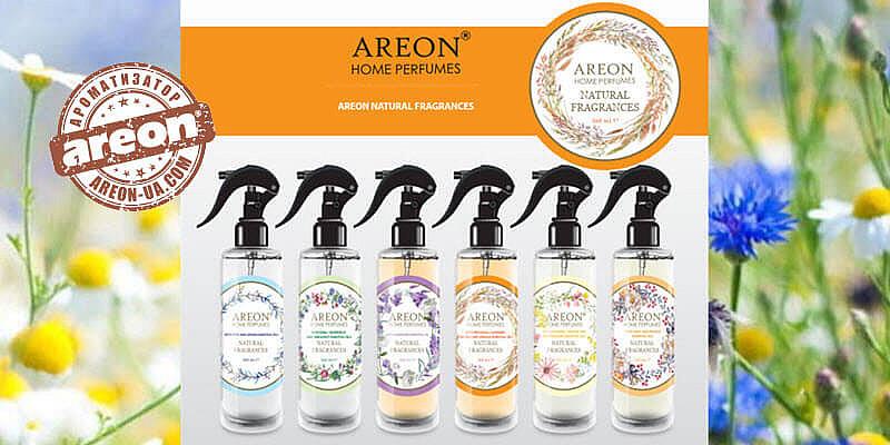 Освежитель для дома Areon Natural Fragrances 100% ЭКО