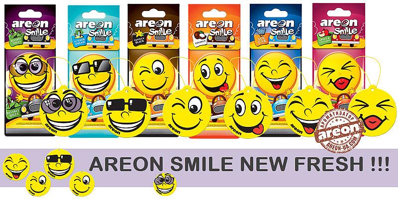 New Fresh! Areon Smile !!!