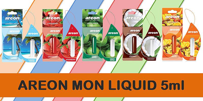 New Fresh!!! Areon Mon Liquide 5ml