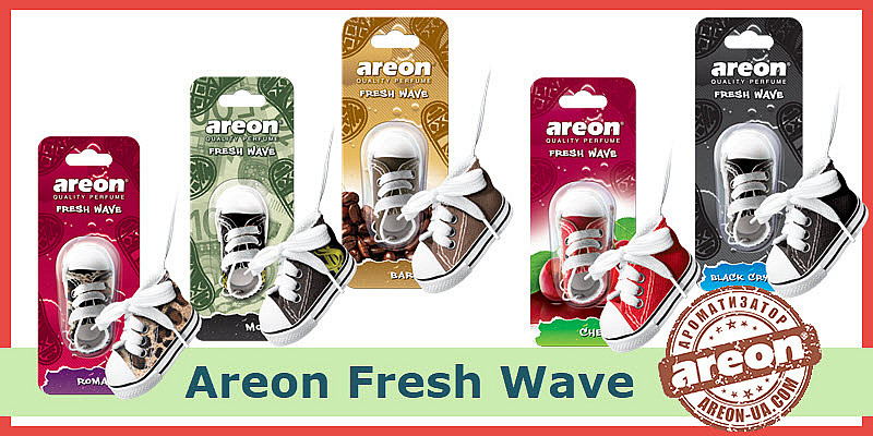 NEW!!! Areon Fresh Wave