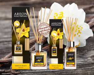 Аромадифузор Areon Home Perfume LUX Vanilla Black