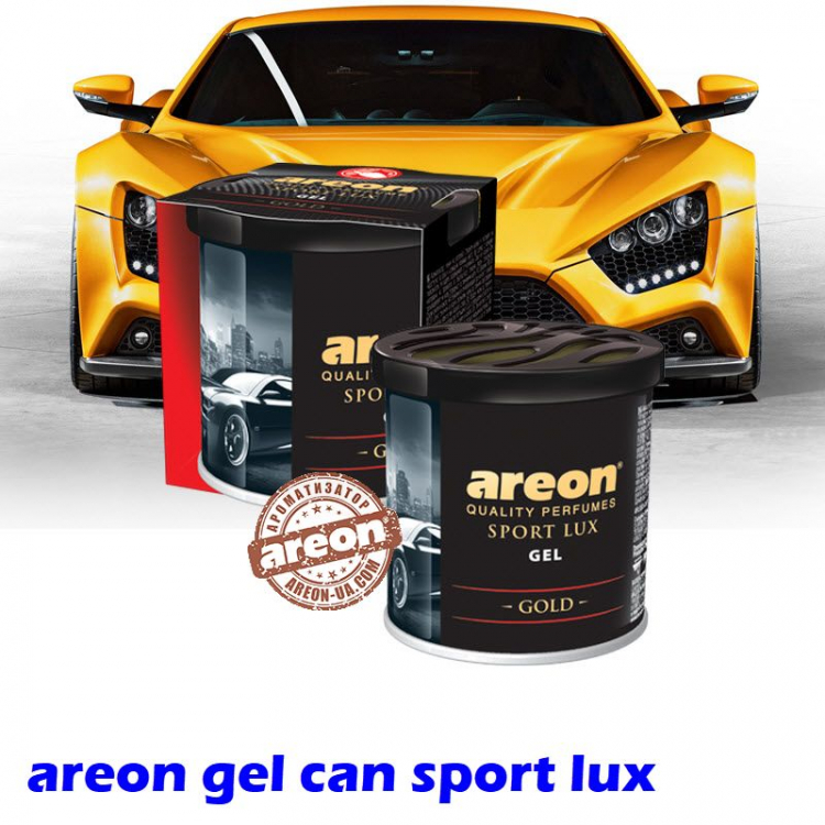 Ароматизатор воздуха Areon Gel Can Sport Lux Gold