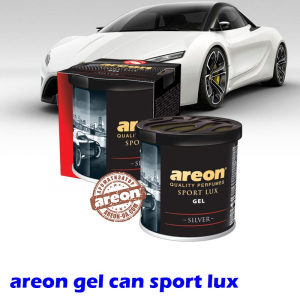 Ароматизатор воздуха Areon Gel Can Sport Lux Silver