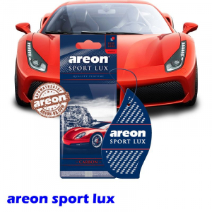 Ароматизатор воздуха Areon Sport LUX Carbon
