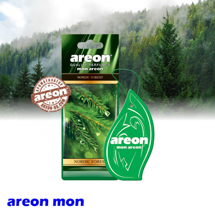 Ароматизатор воздуха Areon Mon Nordic Forest
