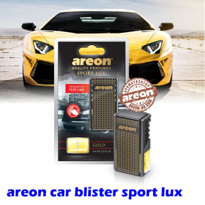 Ароматизатор воздуха Areon Car blister Sport Lux Gold
